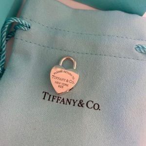 Tiffany & Co Heart Lock charm